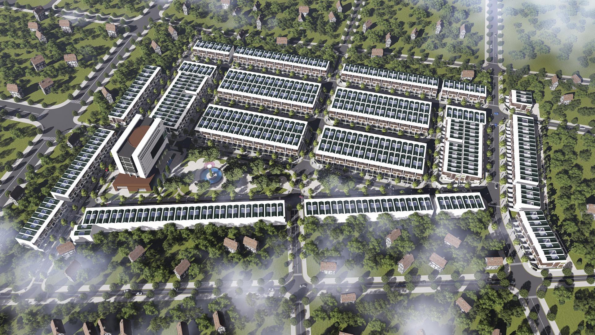 Phối cảnh dự án Eco Future Park