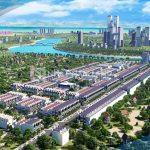 Phối cảnh tổng thể dự án Sentosa Riverside 2