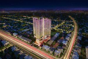 Phối cảnh tổng thể dự án căn hộ D Homme