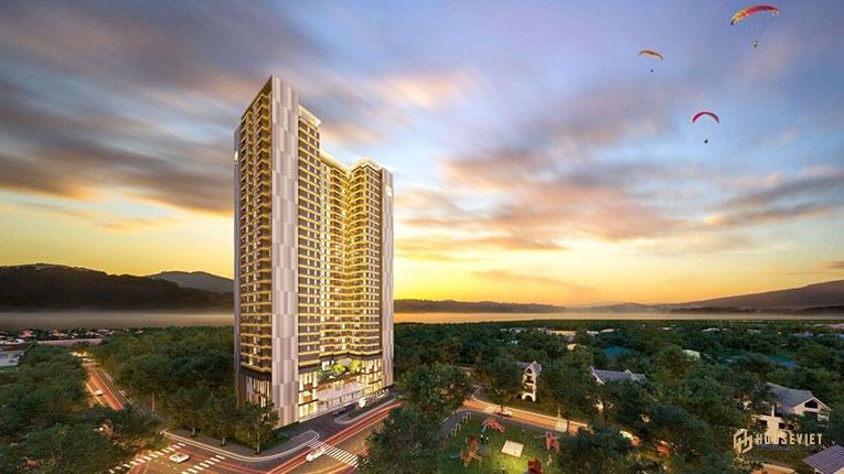 Phối cảnh tổng thể dự án căn hộ The Sang Residence Đà Nẵng