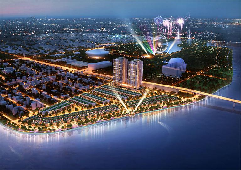 Phối cảnh tổng thể dự án Elysia Complex City
