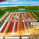 Phối cảnh tổng thể dự án khu đô thị Hera Complex Riverside