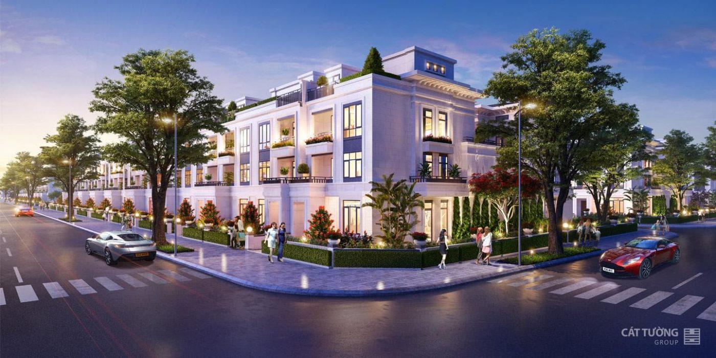 Thiết kế nhà phố liên kế