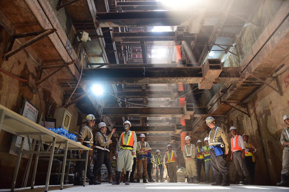 Tuyến Metro số 1 đã kết nối thông tuyến vào ngày 17/2/2020