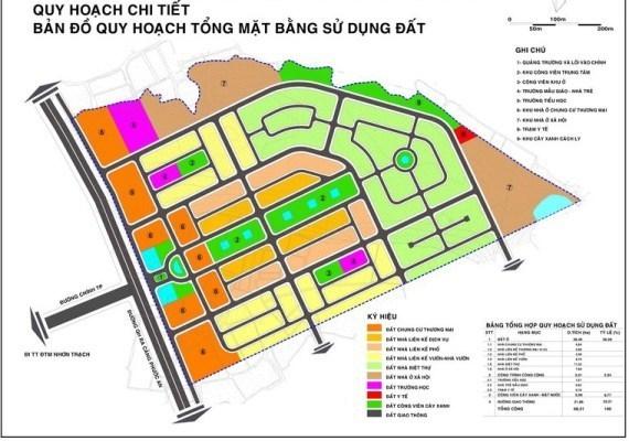 Bản đồ quy hoạch 1/500 mẫu