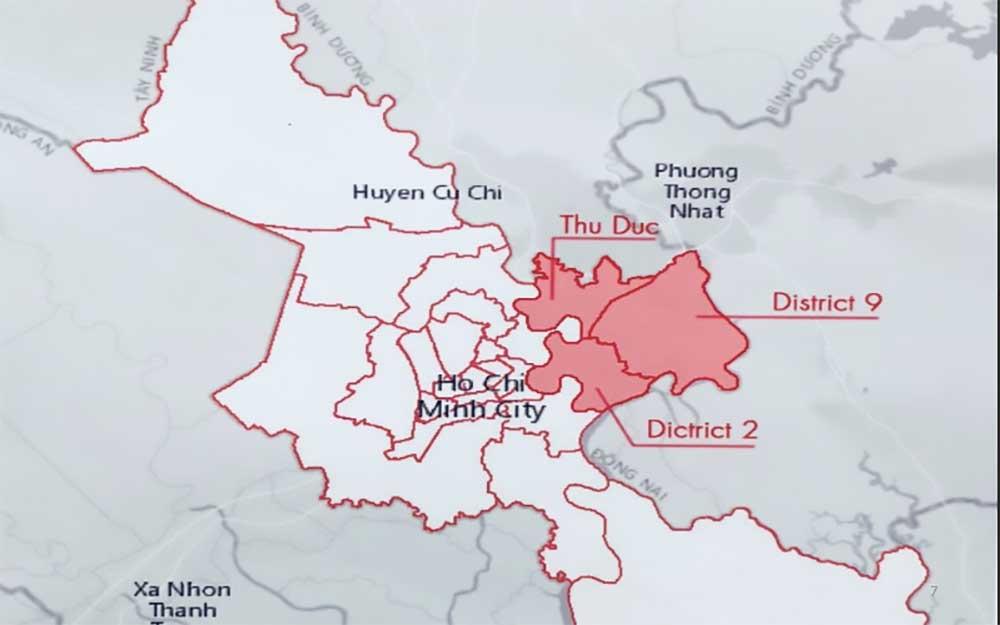 Các quận phía bắc của thành phố Hồ Chí Minh