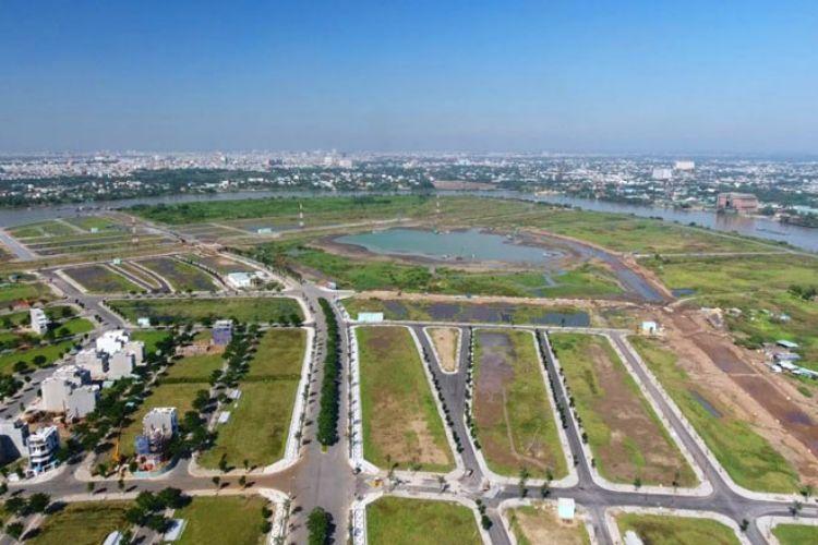 Khu đất nền đã được huy hoạch và đang mở bán