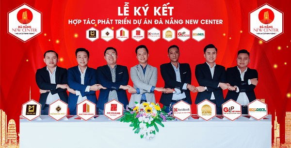 Lễ ký kết hợp tác phát triển dự án Đà Nẵng New Center