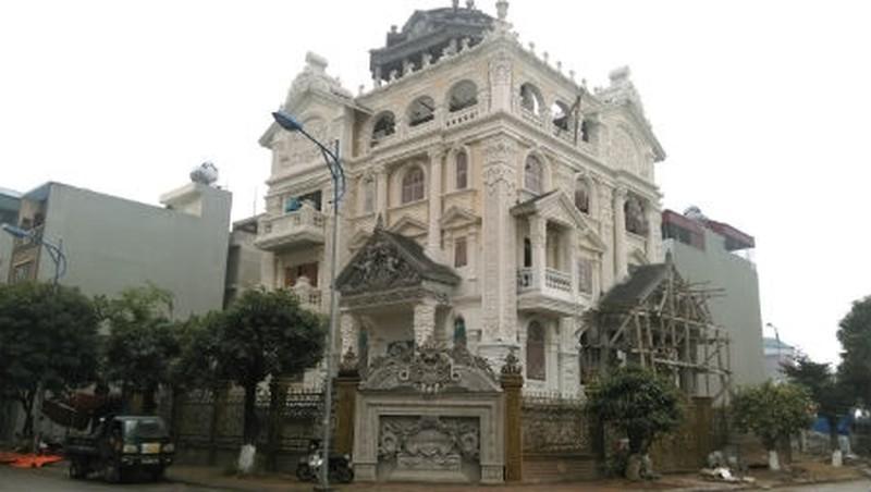 Ngôi biệt thự hoành tráng Ngọc Anh