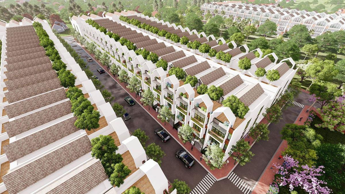 Nhà phố Bảo Lộc Park Hill