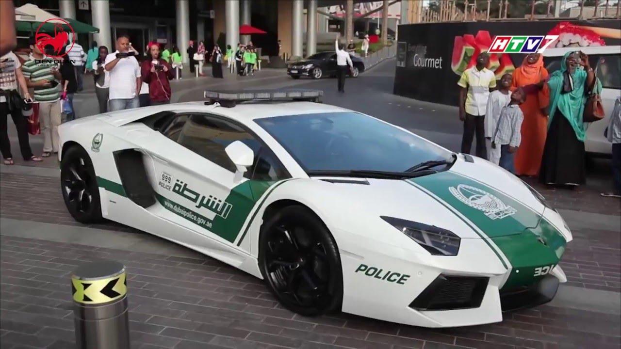 Nơi cảnh sát được chạy siêu xe
