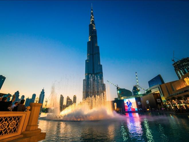 Sở hữu tòa nhà cao nhất thế giới