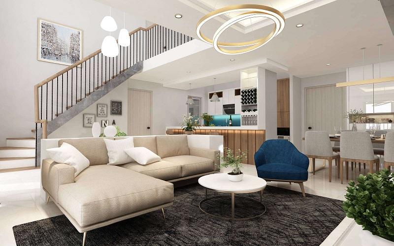 Thiết kế căn hộ Duplex đầy đủ tiện nghi
