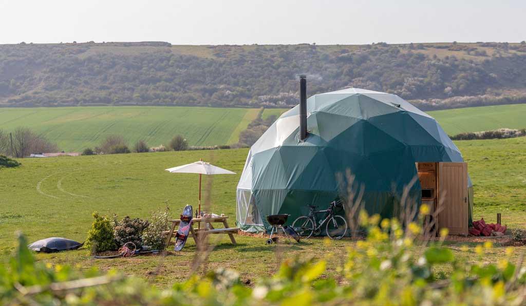 Trải nghiệm Farmstay phong cảnh đồi núi