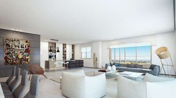 Thiết kế nội thất Penthouse