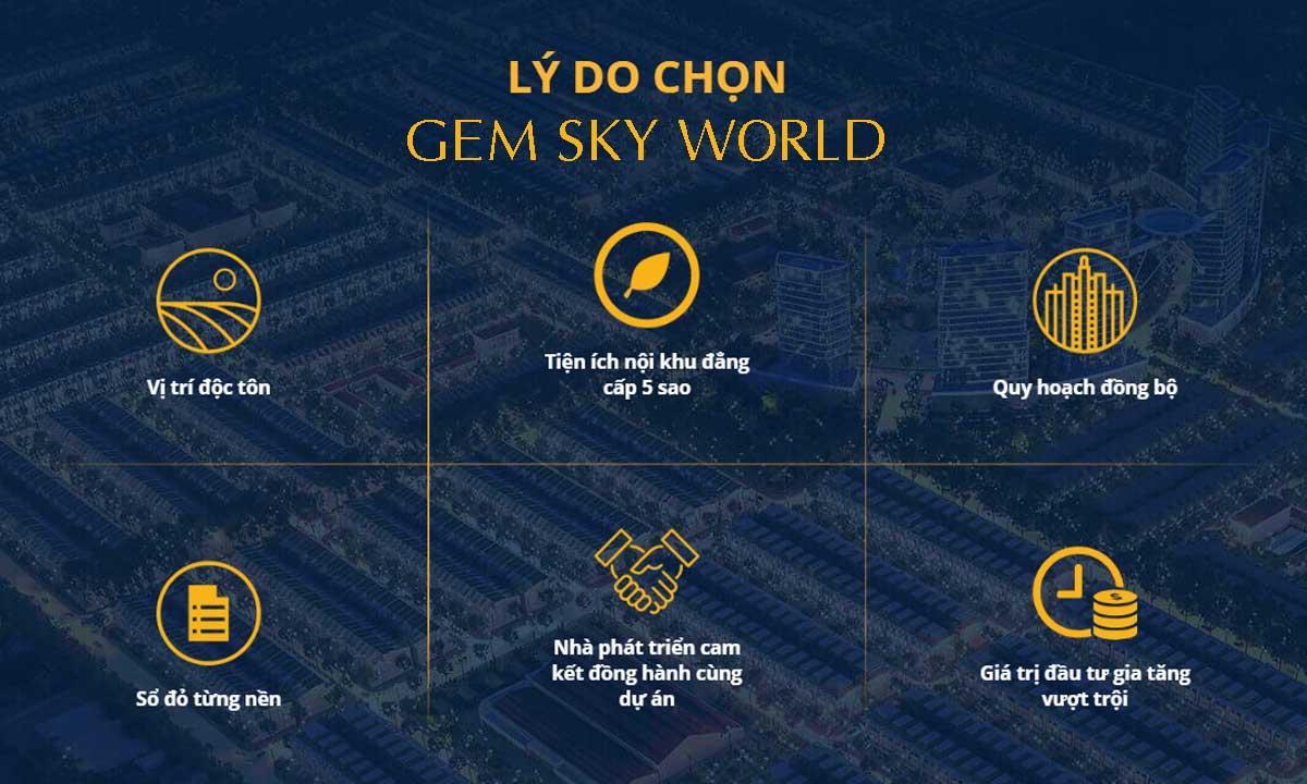 Tại sao nên chọn dự án Gem Sky World