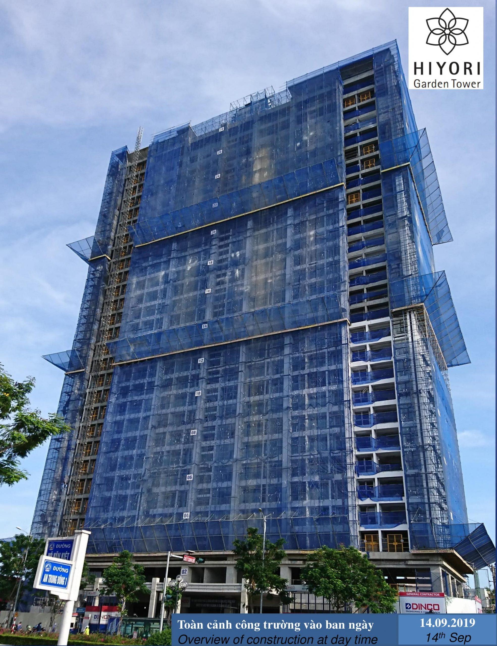 Tiến độ dự án Nagomi Waterfront Tower