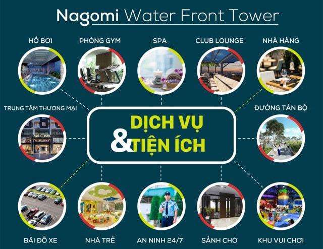 Tiện ích nội khu dự án Nagomi Waterfront Tower