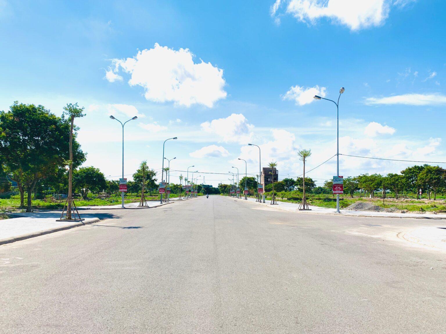 Hình ảnh thực tế tại dự án Dương Kinh New City