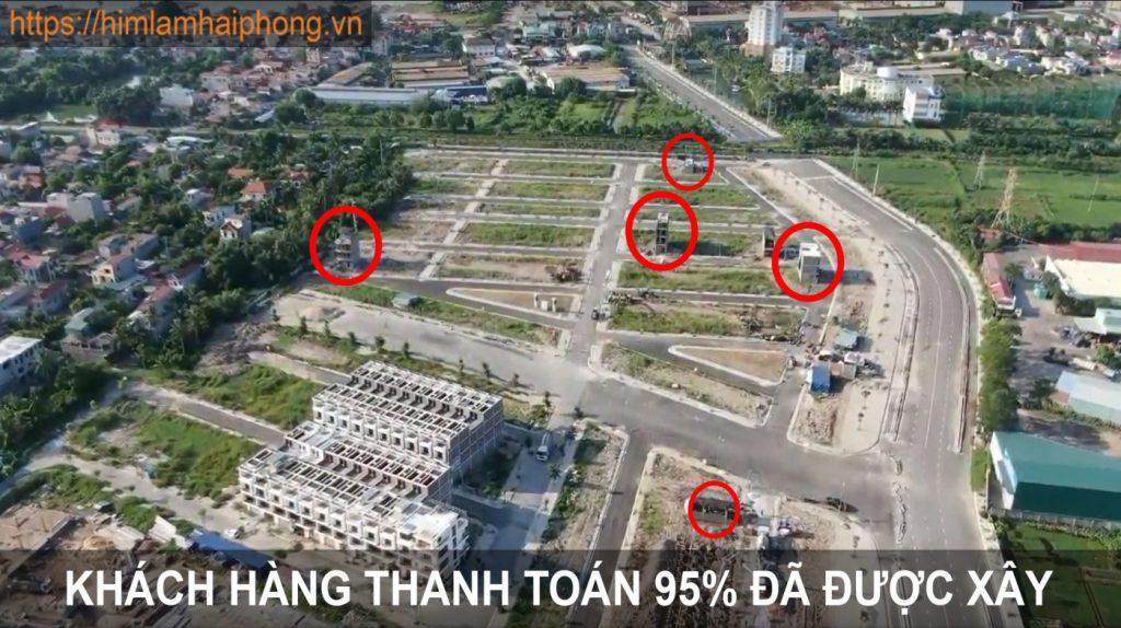 Hình ảnh thực tế dự án Him lam Hùng Vương