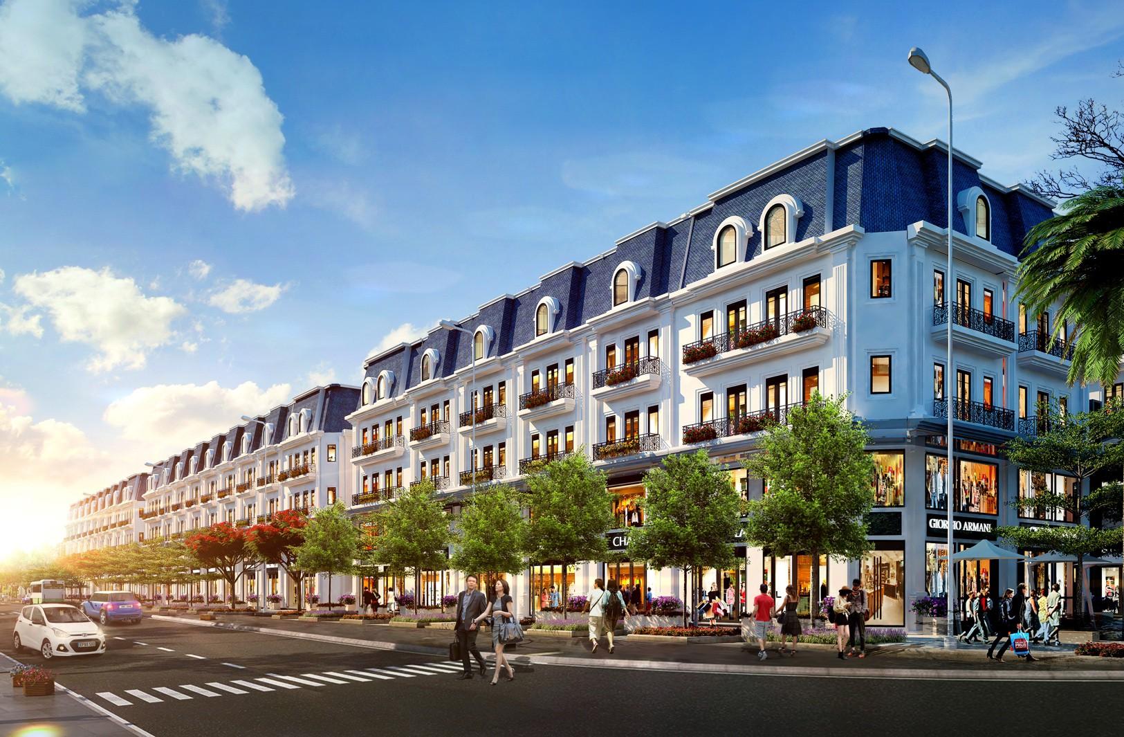 Khu nhà phố liên kế thuộc dự án Mipec City View