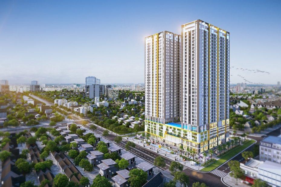 Phối cảnh tổng thể dự án Phú Đông Smart City