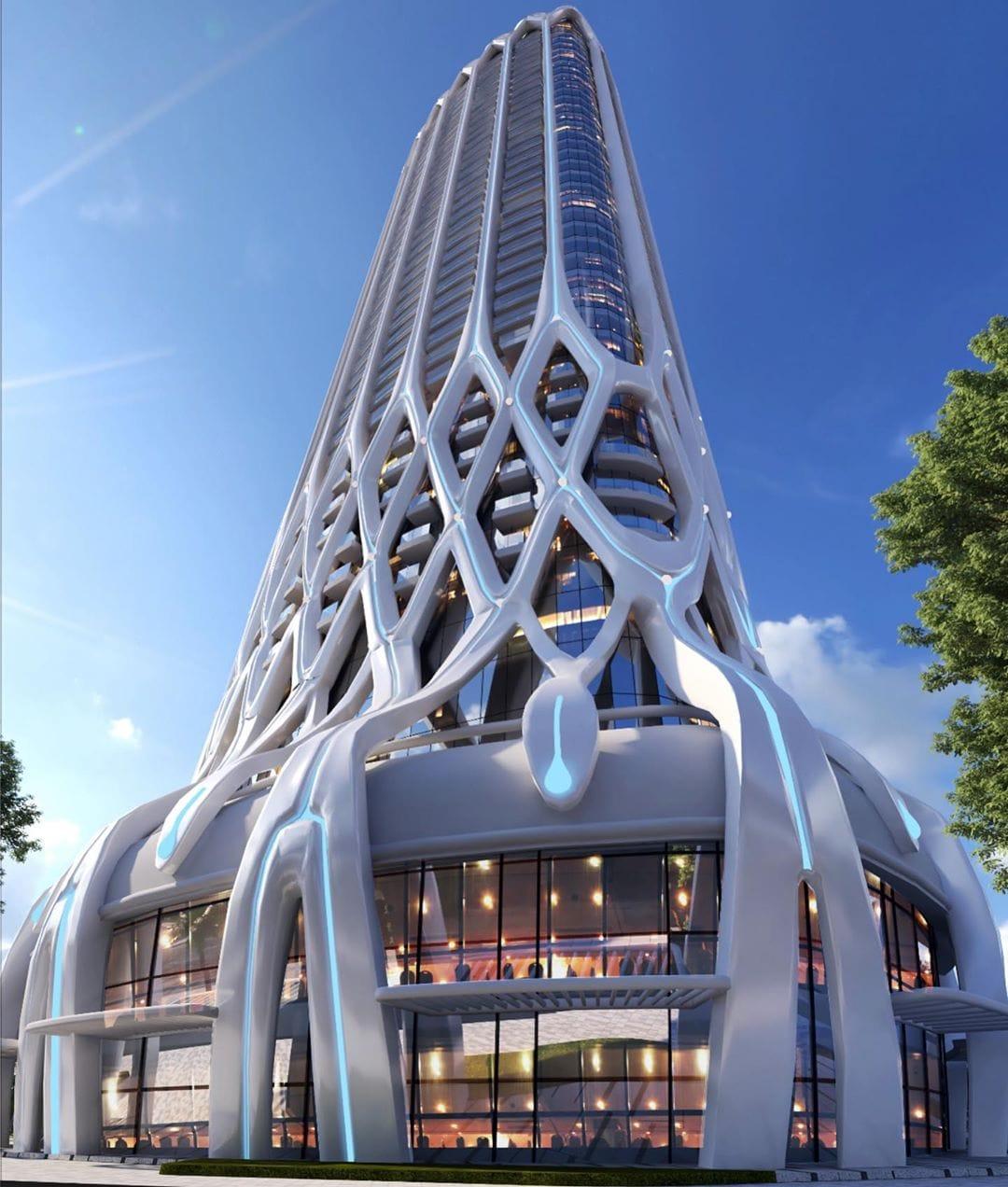 Bản thiết kế tháp Doji Tower Hải Phòng