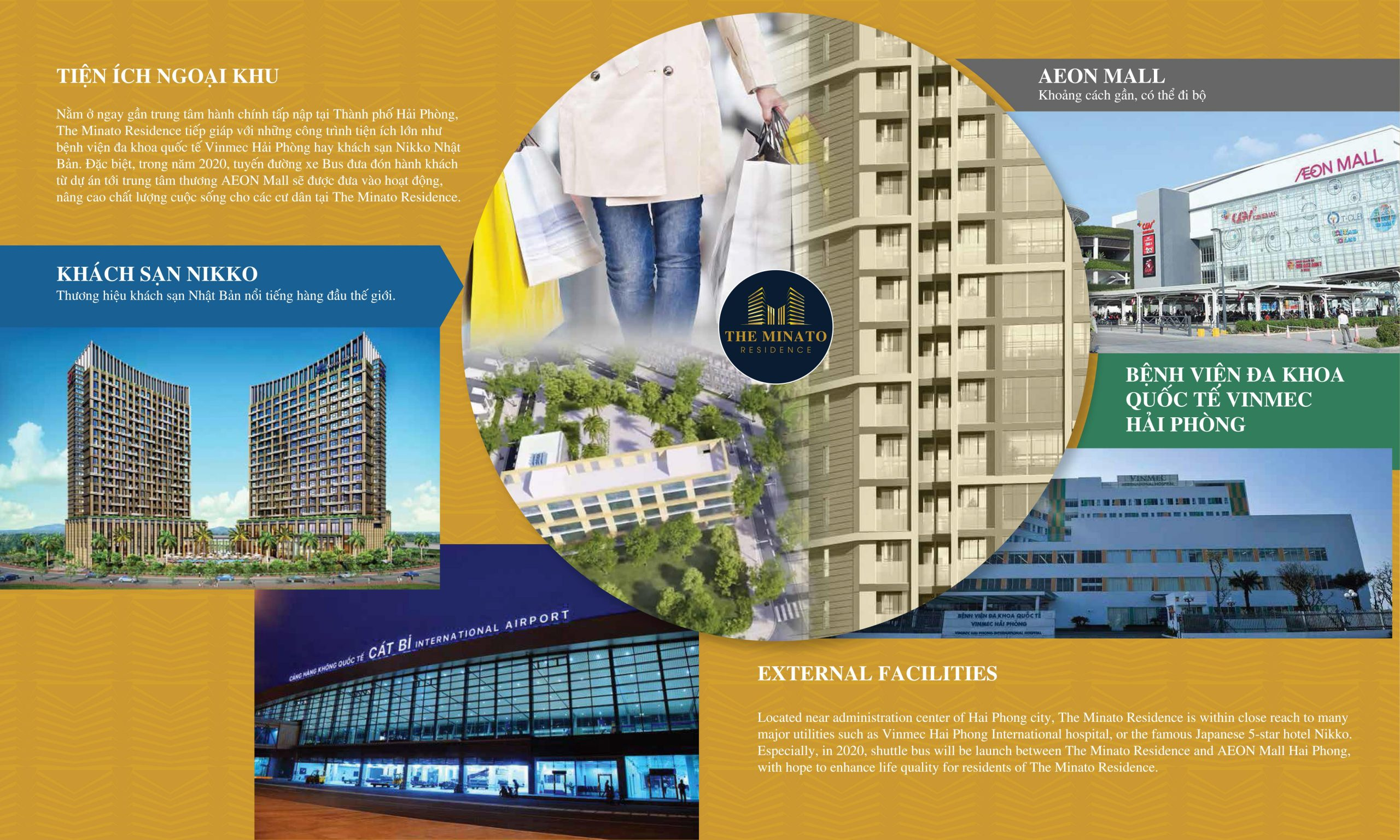 Tiện ích dự án chung cư The Minato Residence