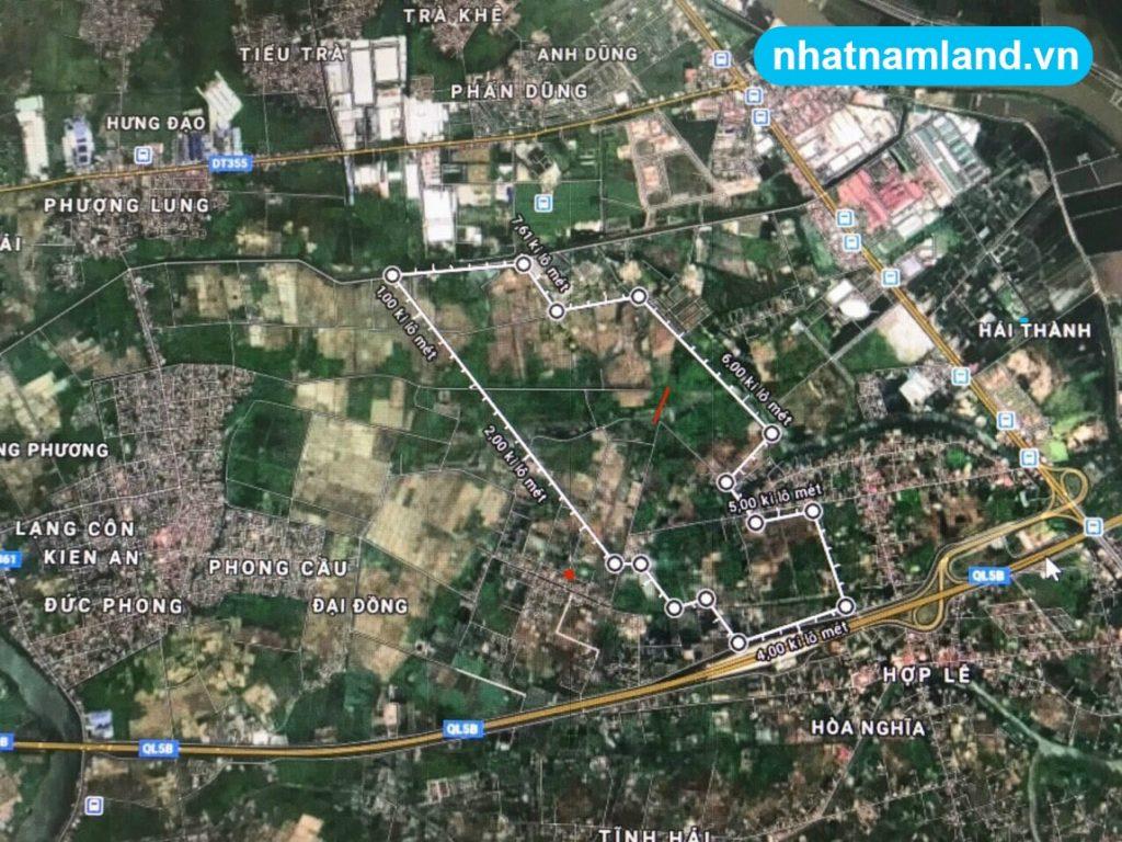 Vị trí quy hoạch dự án Vinhomes Dương Kinh Kiến Thụy